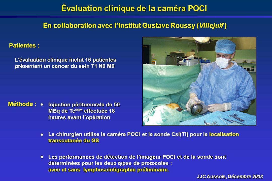 Évaluation clinique de la caméra POCI
