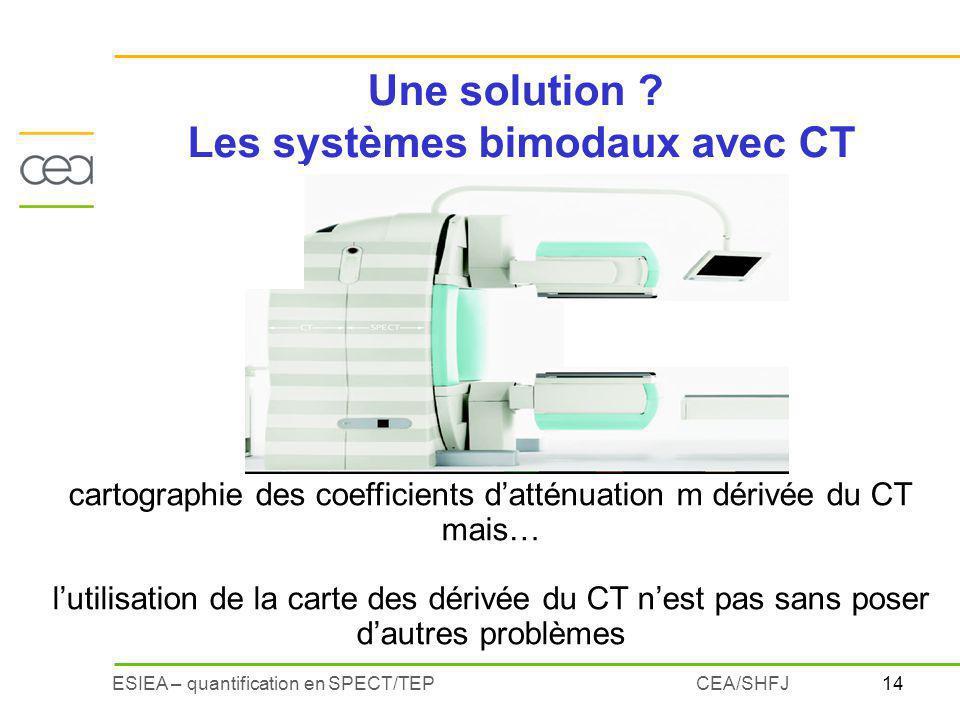 Les systèmes bimodaux avec CT