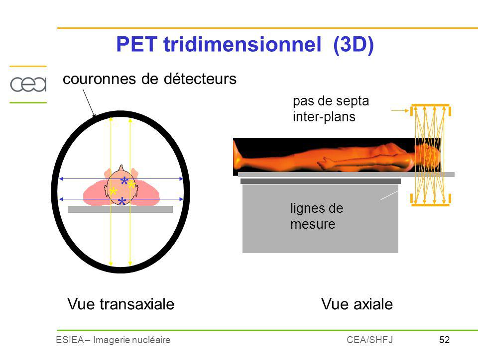PET tridimensionnel (3D)