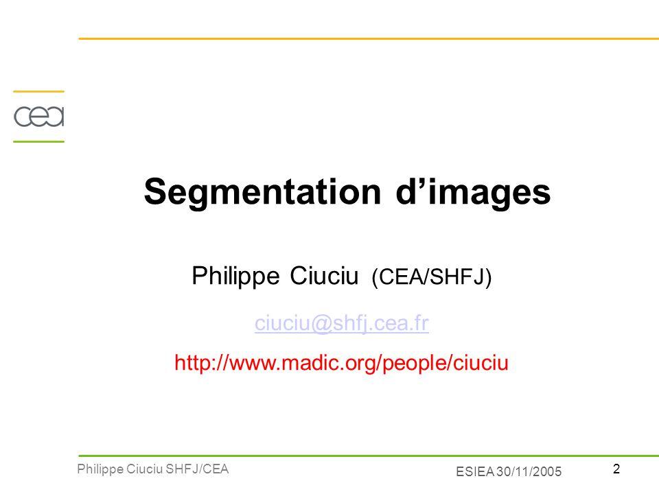 Segmentation d'images