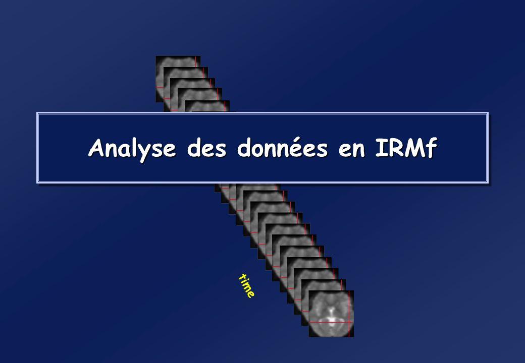 Analyse des données en IRMf