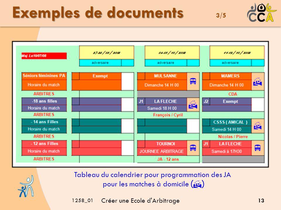 Exemples de documents 3/5