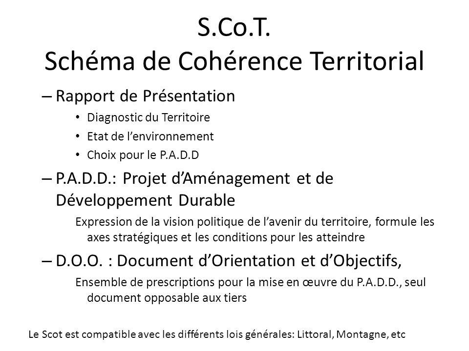 S.Co.T. Schéma de Cohérence Territorial