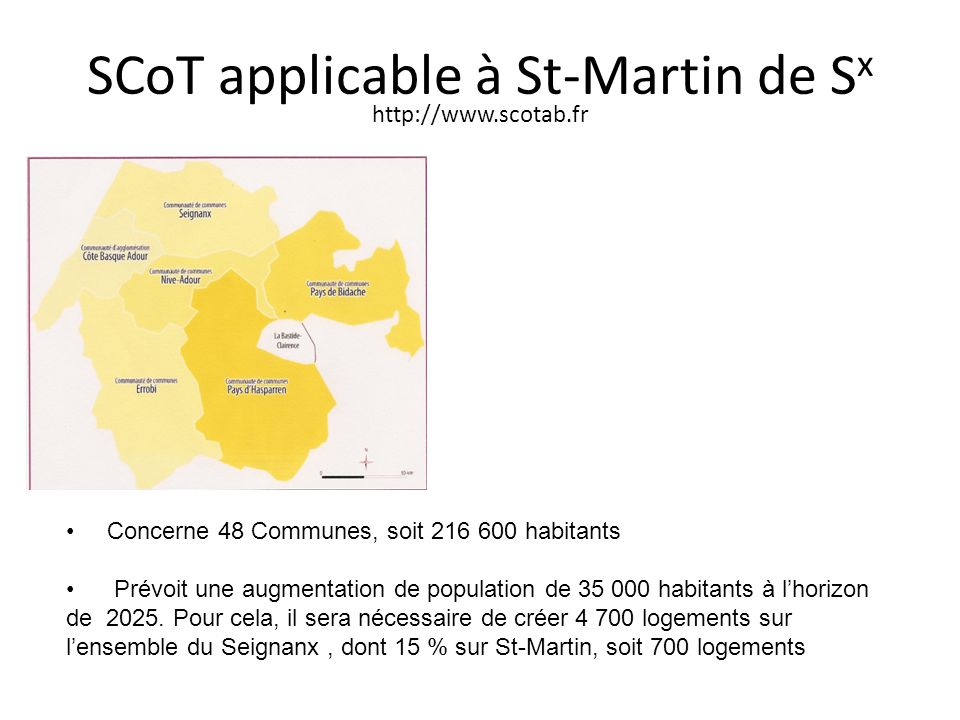 SCoT applicable à St-Martin de Sx http://www.scotab.fr