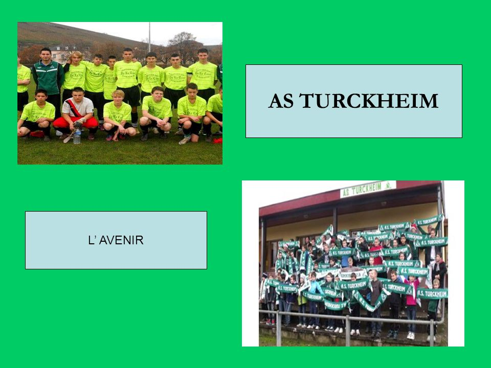 AS TURCKHEIM L' AVENIR