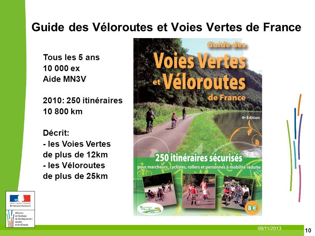 Guide des Véloroutes et Voies Vertes de France