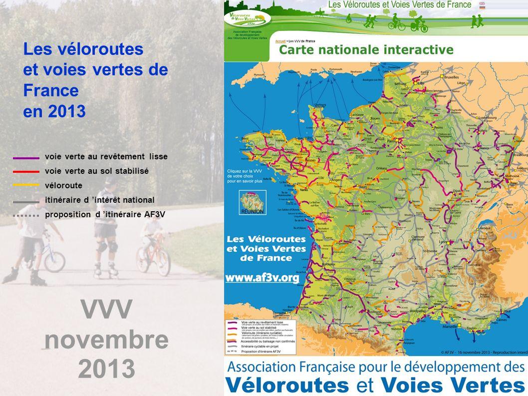 VVV novembre 2013 Les véloroutes et voies vertes de France en 2013