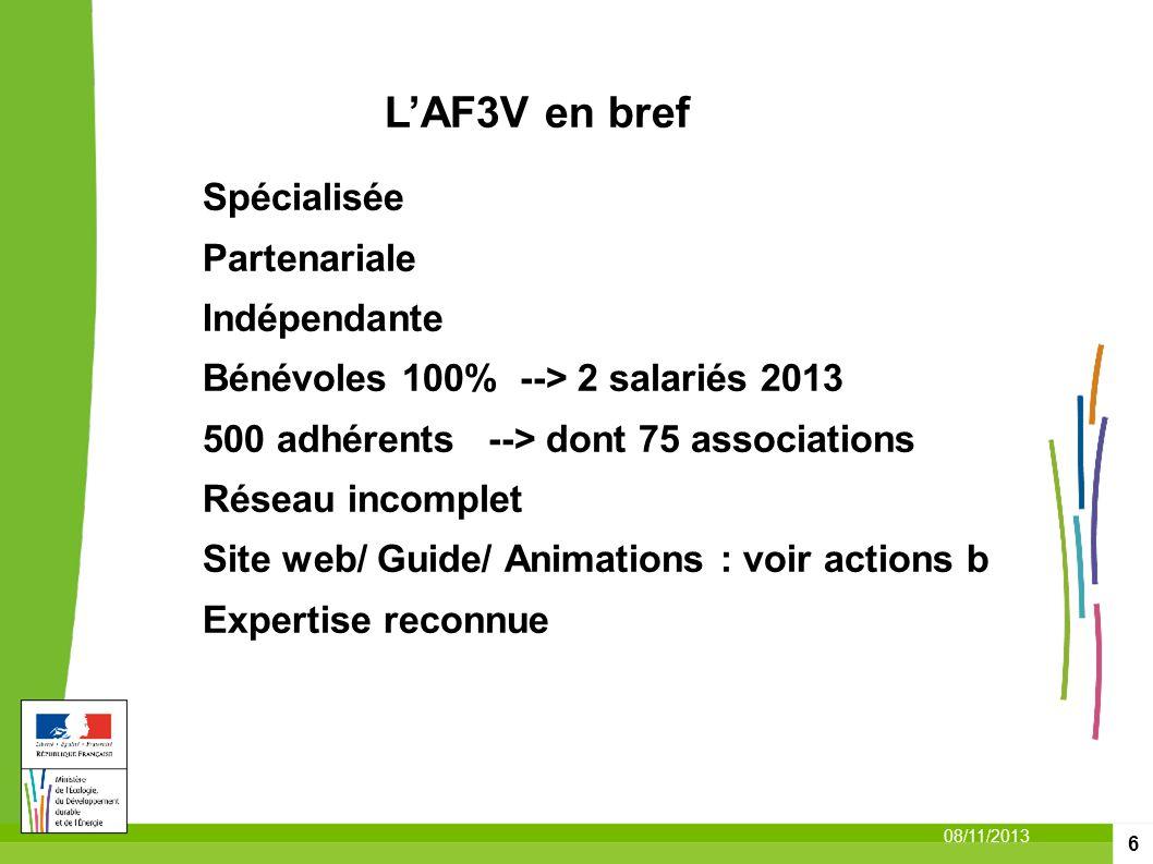 L'AF3V en bref