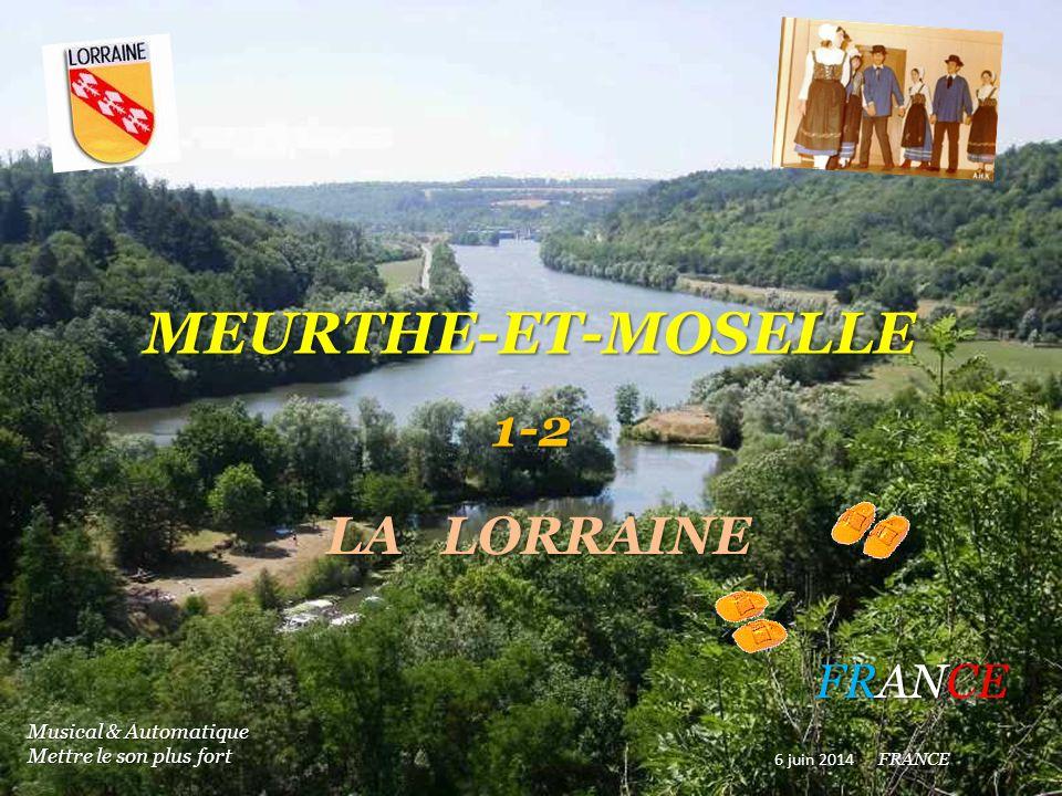 MEURTHE-ET-MOSELLE 1-2 LA LORRAINE FRANCE