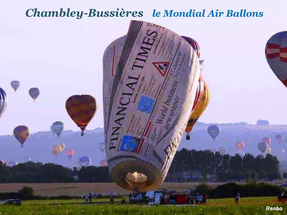 Chambley-Bussières le Mondial Air Ballons