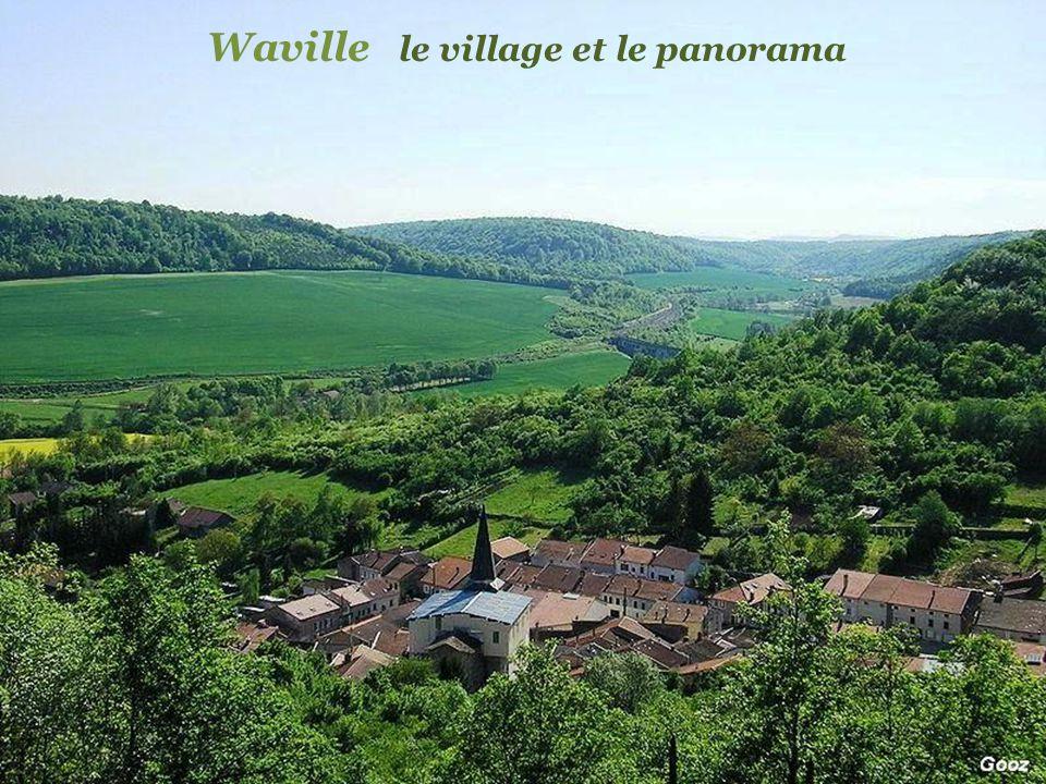Waville le village et le panorama
