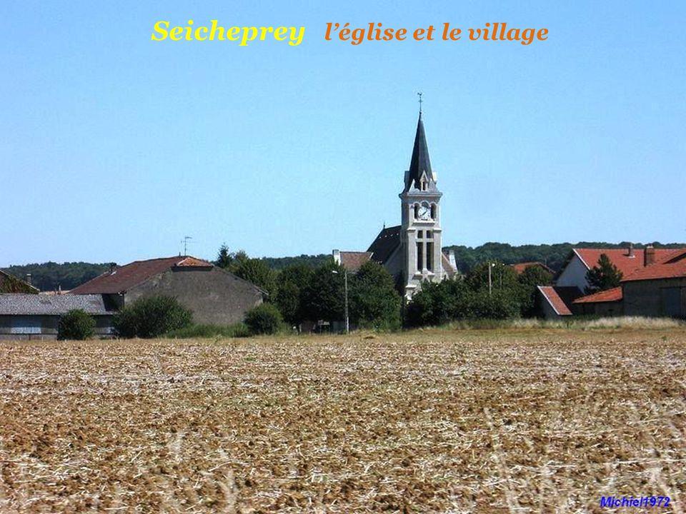 Seicheprey l'église et le village