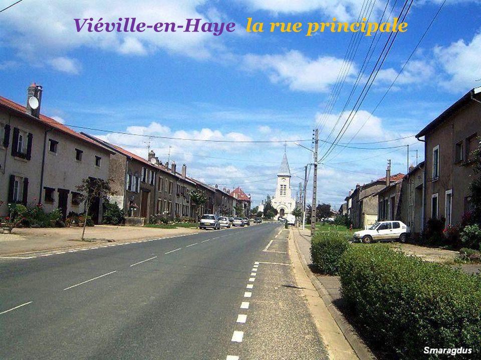 Viéville-en-Haye la rue principale