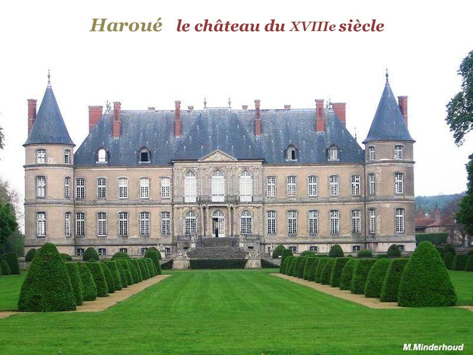 Haroué le château du XVIIIe siècle