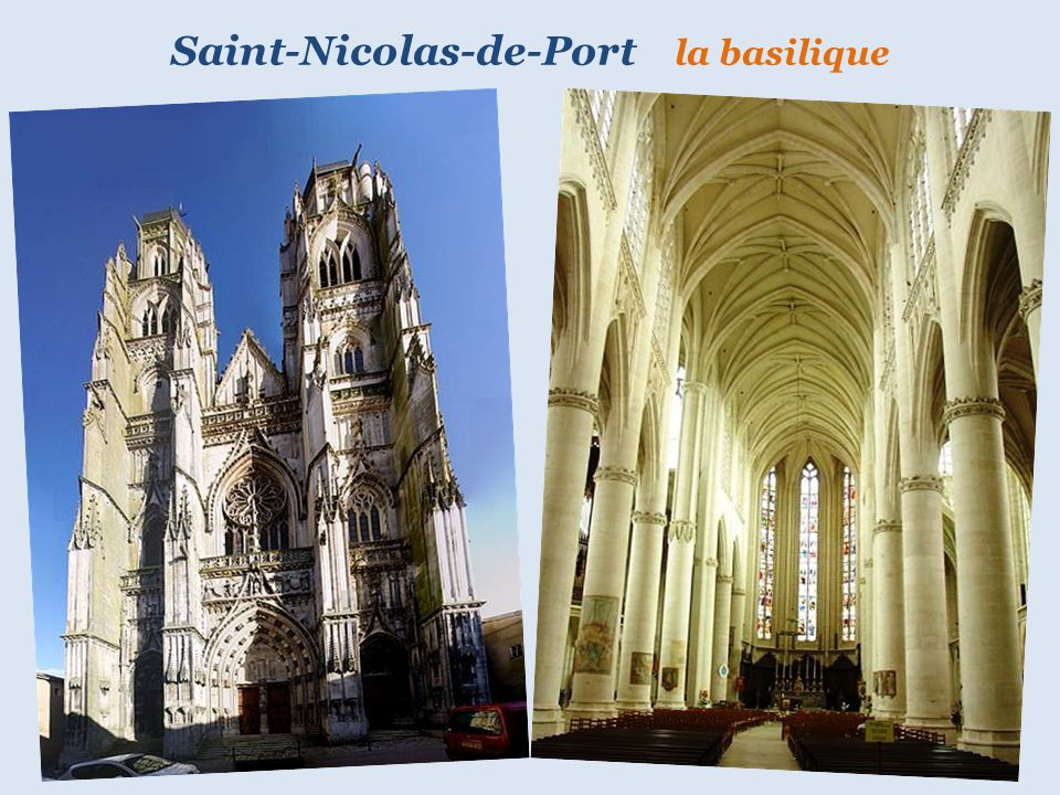 Saint-Nicolas-de-Port la basilique