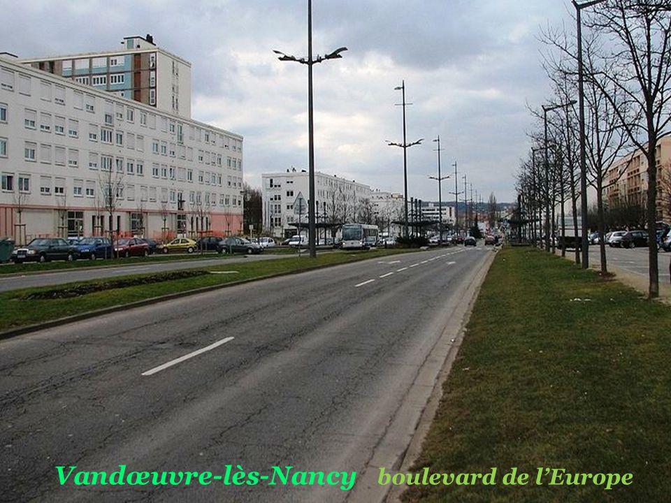 Vandœuvre-lès-Nancy boulevard de l'Europe