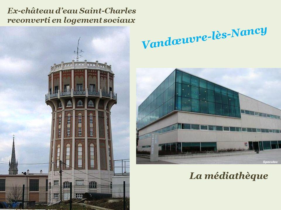 Vandœuvre-lès-Nancy La médiathèque