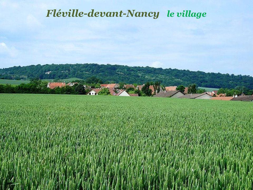Fléville-devant-Nancy le village