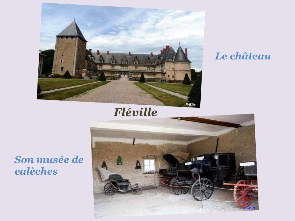Le château Fléville Son musée de calèches