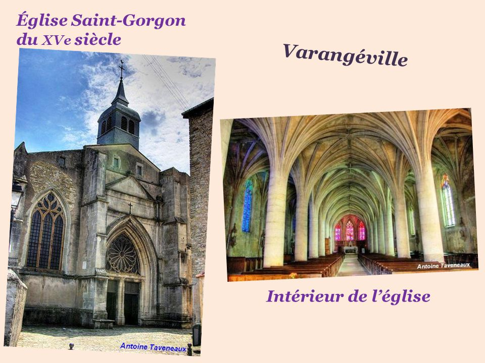 Église Saint-Gorgon du XVe siècle