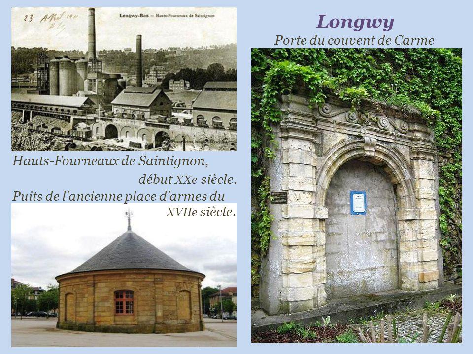 Longwy Porte du couvent de Carme