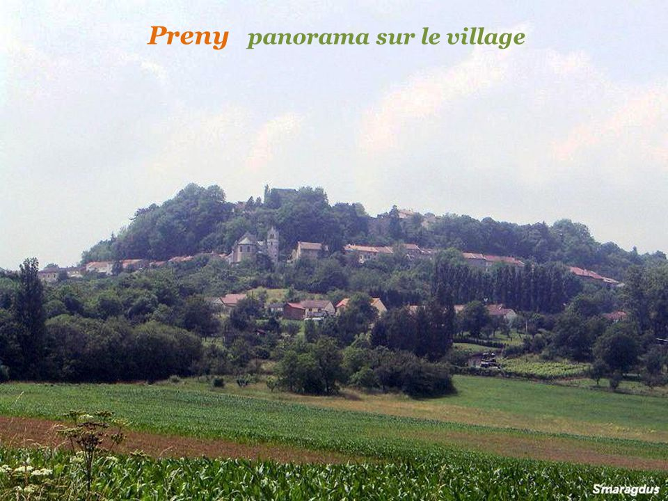 Preny panorama sur le village
