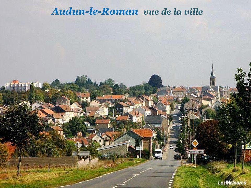 Audun-le-Roman vue de la ville