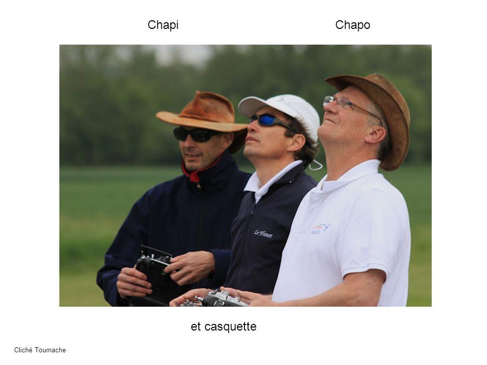 Chapi Chapo et casquette Cliché Tournache