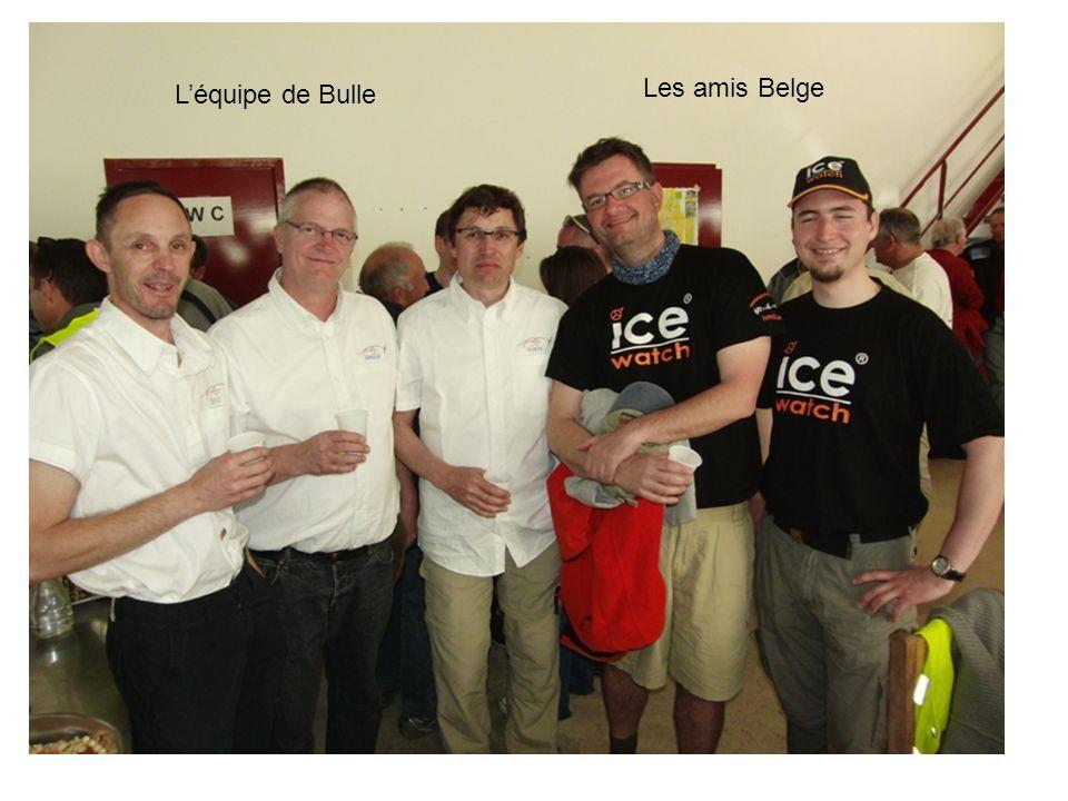 L'équipe de Bulle Les amis Belge