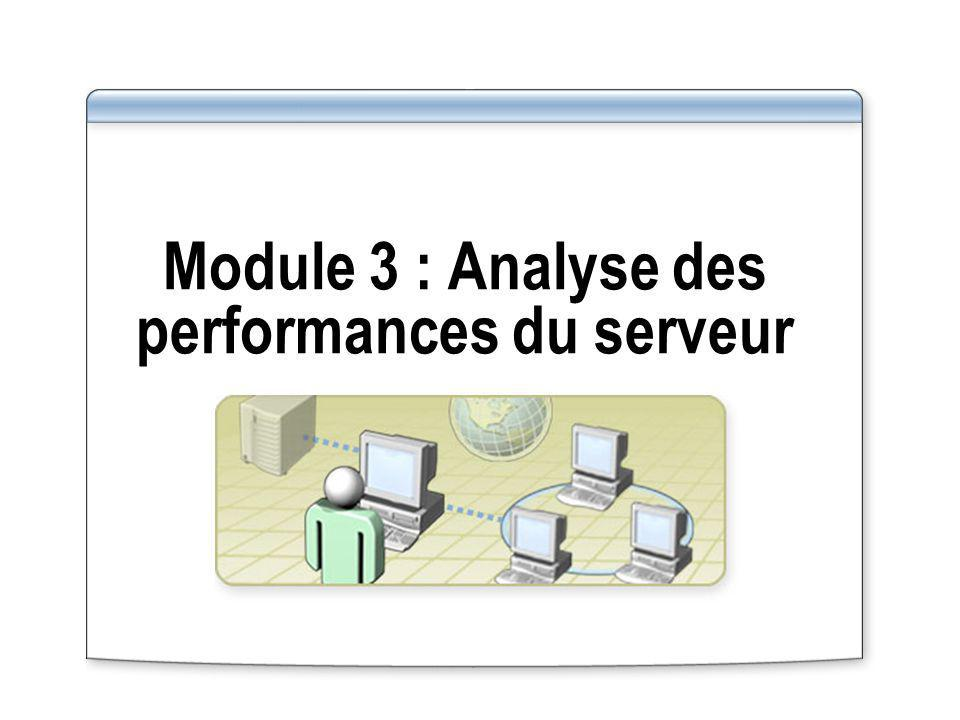Module 3 : Analyse des performances du serveur