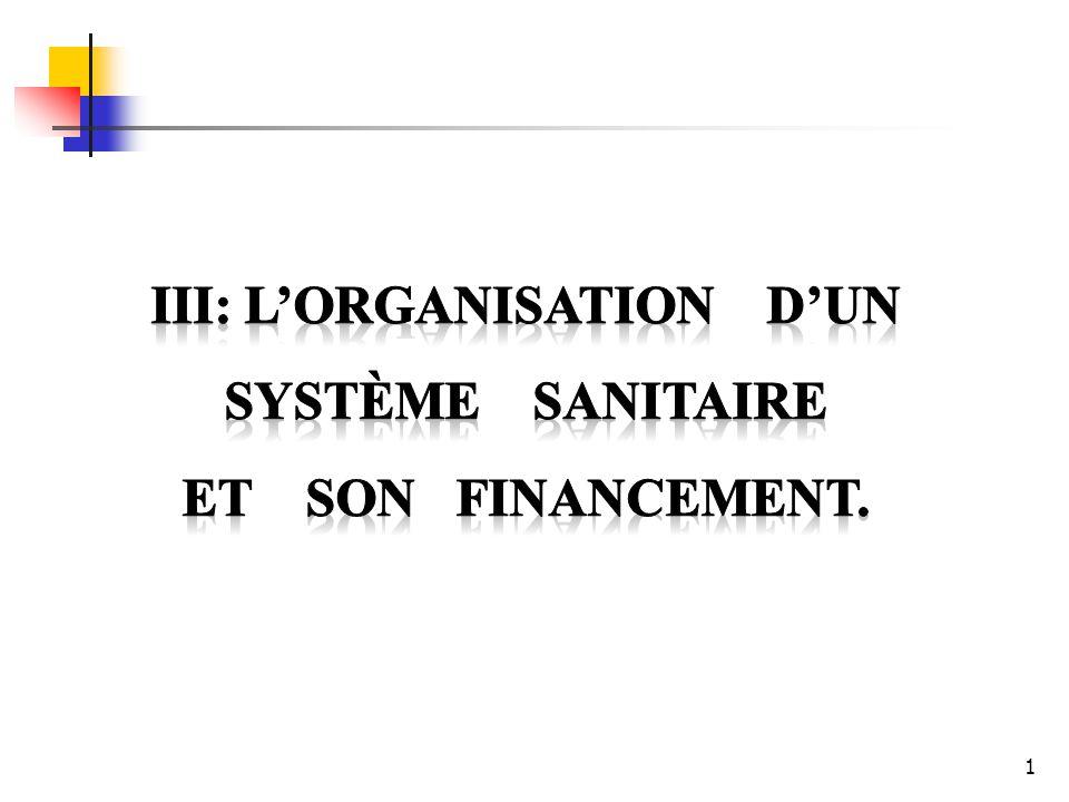 III: L'organisation d'un