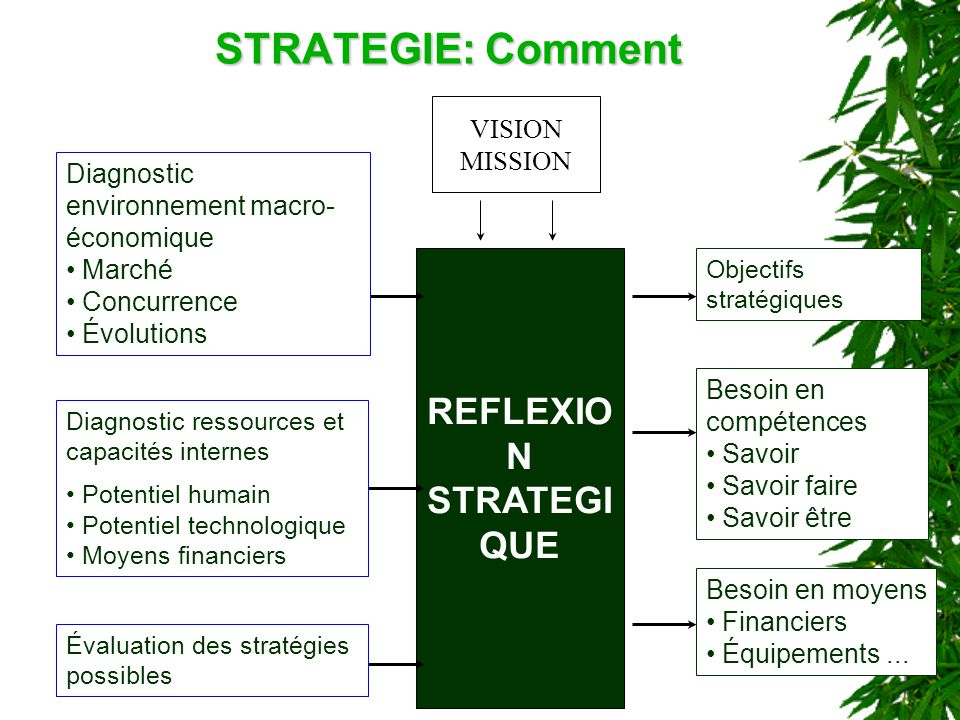 REFLEXION STRATEGIQUE