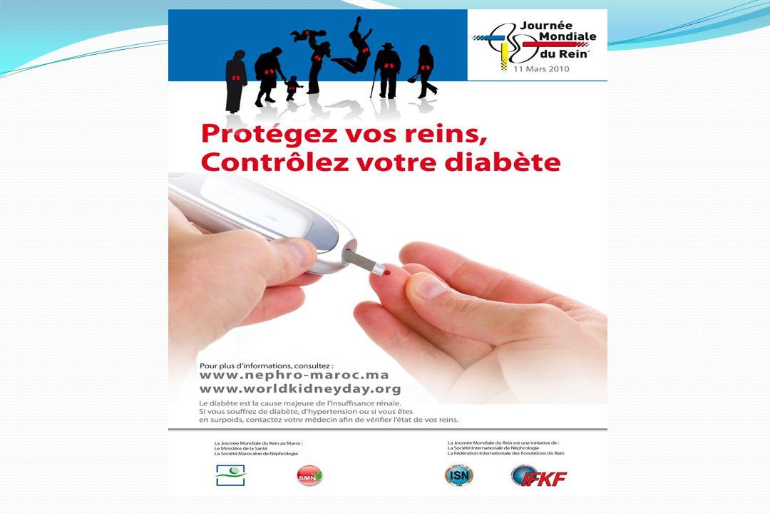 Cette année le thème de la journée mondiale du rein est le diabète.