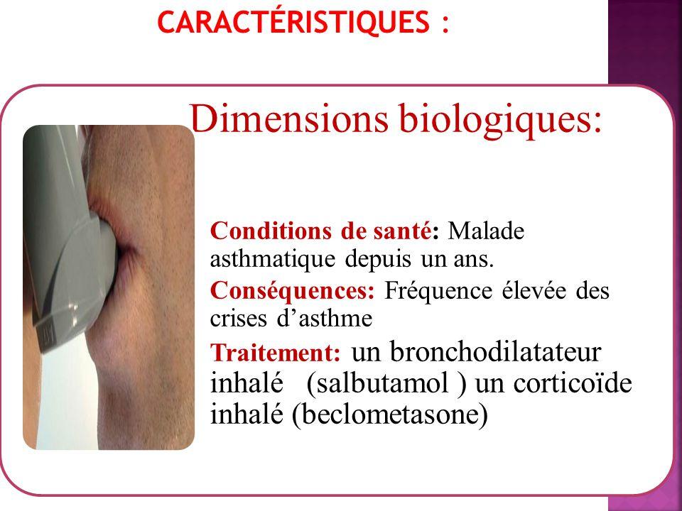 Dimensions biologiques: