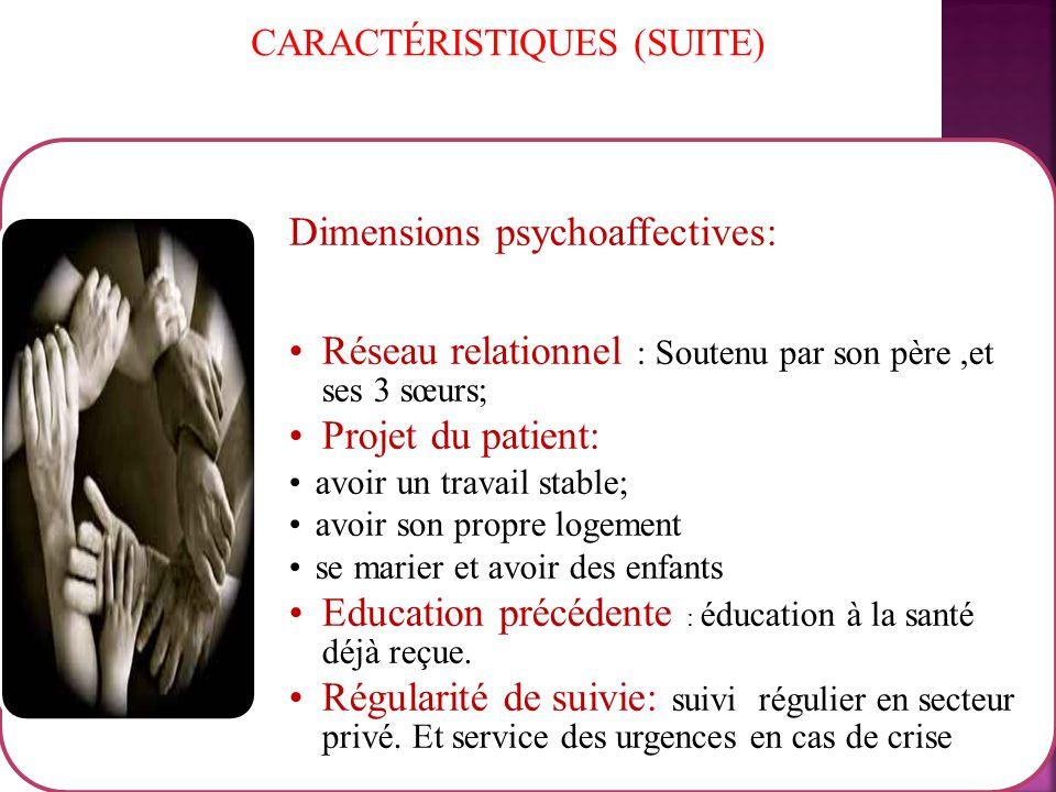 CARACTÉRISTIQUES (SUITE)