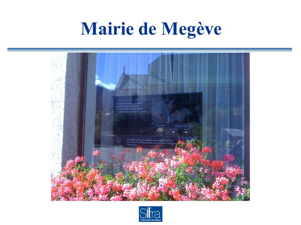 Mairie de Megève