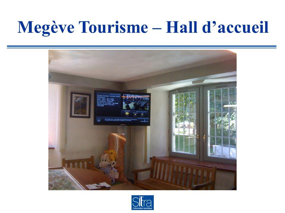 Megève Tourisme – Hall d'accueil