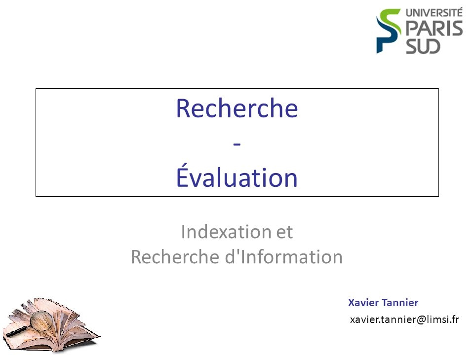 Recherche - Évaluation