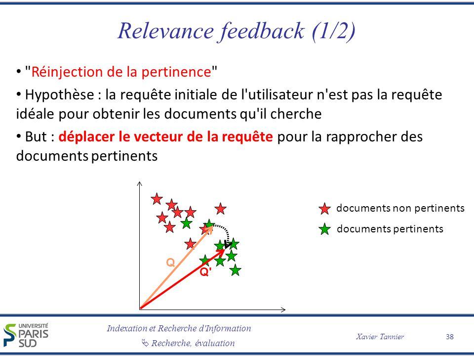 Relevance feedback (1/2)