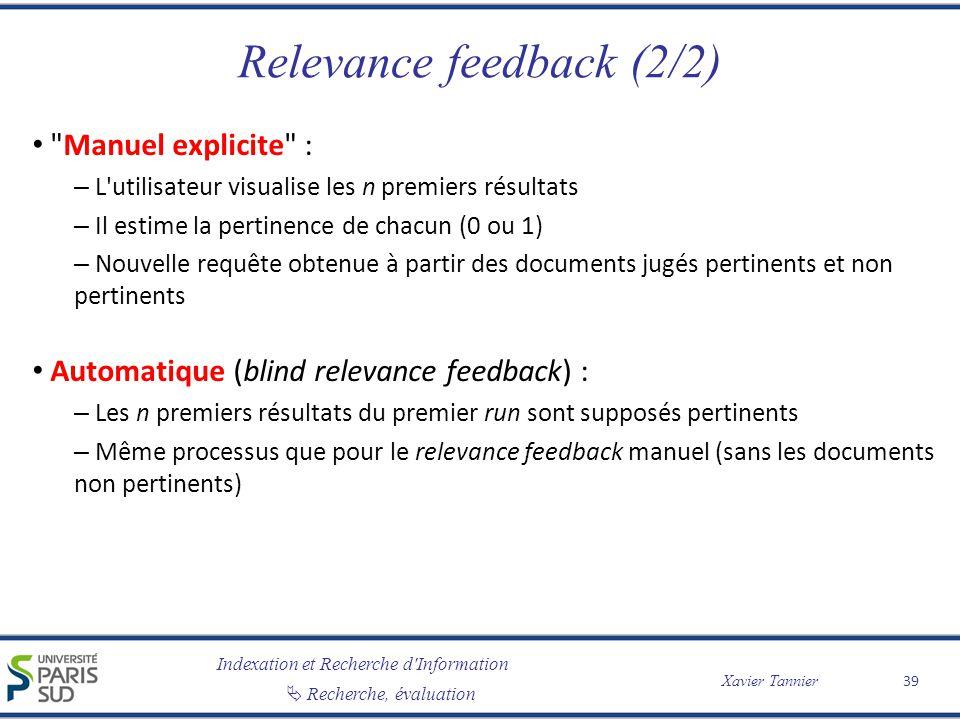Relevance feedback (2/2)