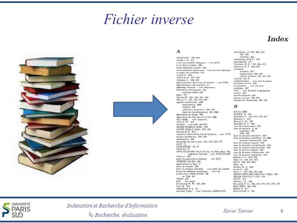 Fichier inverse