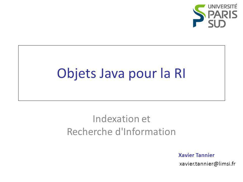 Indexation et Recherche d Information