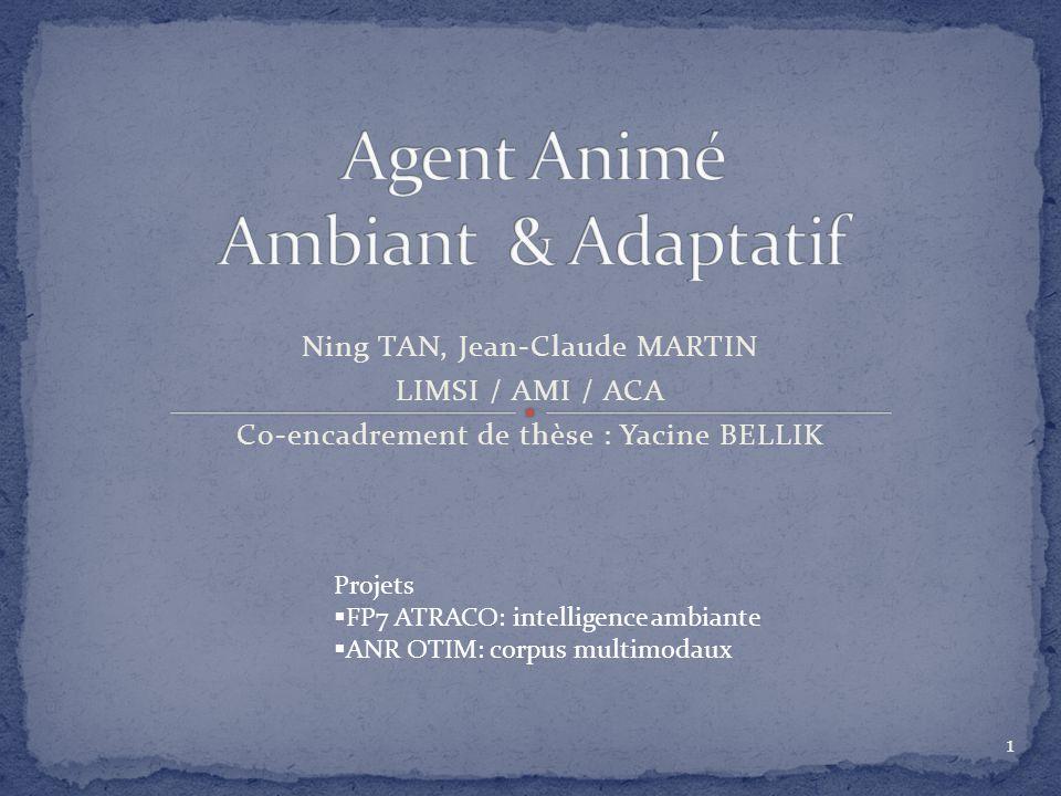 Agent Animé Ambiant & Adaptatif