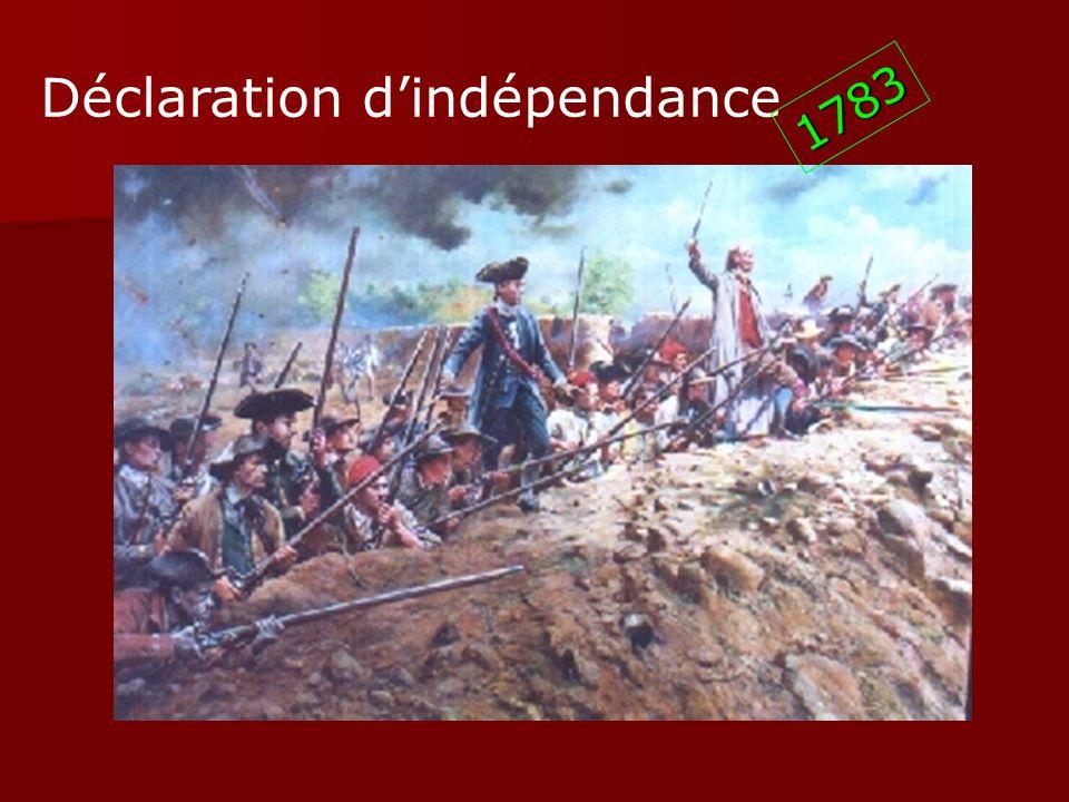 Déclaration d'indépendance