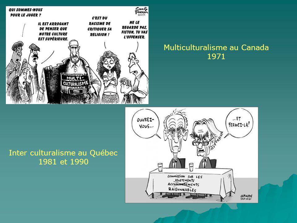 Multiculturalisme au Canada 1971