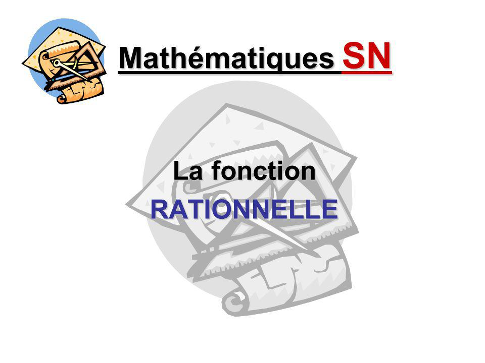 La fonction RATIONNELLE