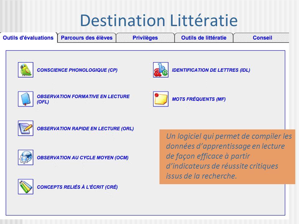 Destination Littératie