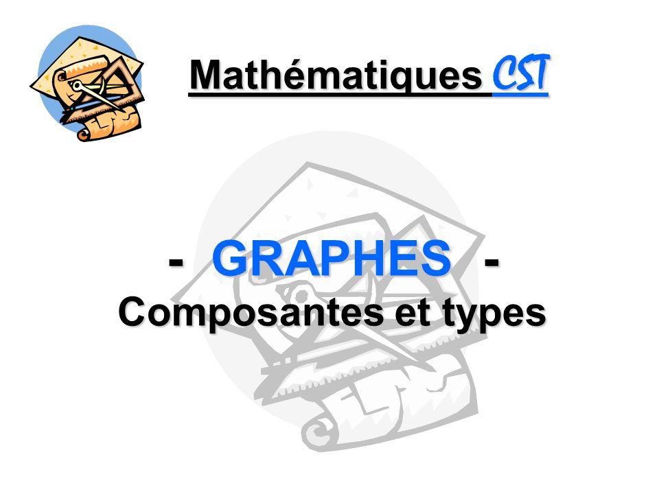 - GRAPHES - Composantes et types