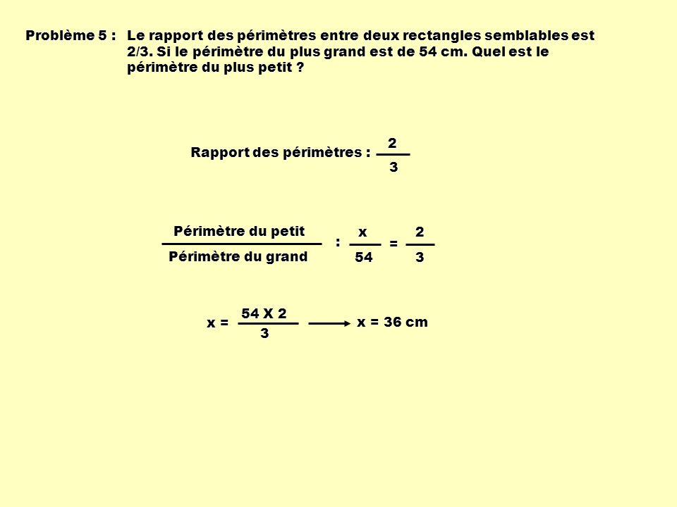 Problème 5 :