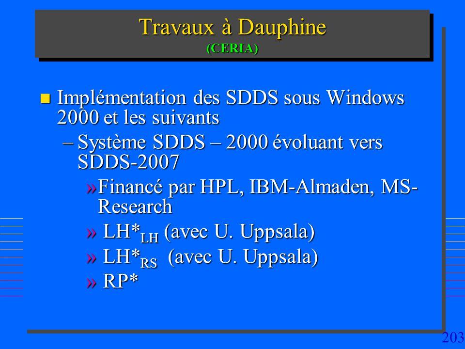 Travaux à Dauphine (CERIA)